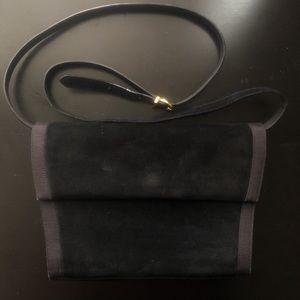 Vintage Salvatore Ferragamo velvet/suede bag